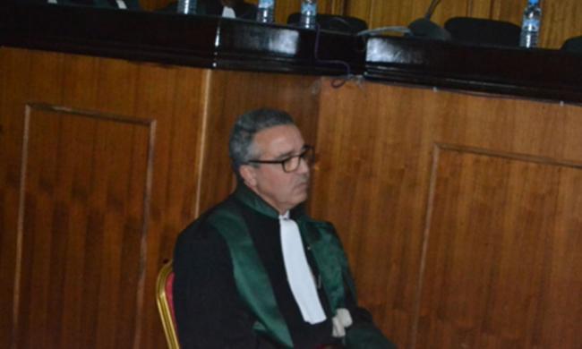 حضور المجلس الوطني لخبراء العدل في حفل تنصيب رئيس و وكيل الملك لدى المحكمة الابتدائية بتيفلت