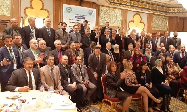مشاركة المجلس الوطني لخبراء العدل في اليوم الدراسي العلمي التاسع للاتحاد المحاسبين والمراجعين العرب بالقاهرة