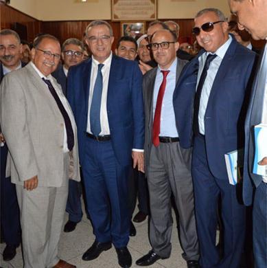 حفل افتتاح المحكمة الابتدائية بمشرع بلقصيري  بحضور وفد من  المجلس الوطني لخبراء العدل