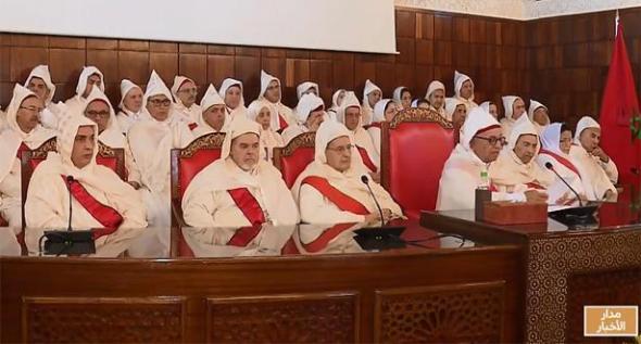 حضور المجلس الوطني لخبراء العدل لحفل افتتاح السنة القضائية الجديدة 2020 بناءا على دعوة السيد الرئيس الاول
