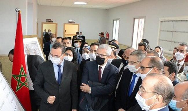 حضور المجلس الوطني لخبراء العدل في مراسيم تدشين قسم محكمة قضاء الأسرة بمدينة قصبة تادلة.