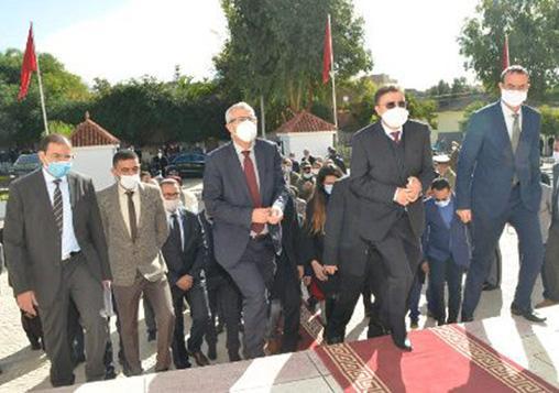 حضور المجلس في مراسيم تدشين المركز القاضي المقيم بقرية ابا محمد (اقليم تاونات)،